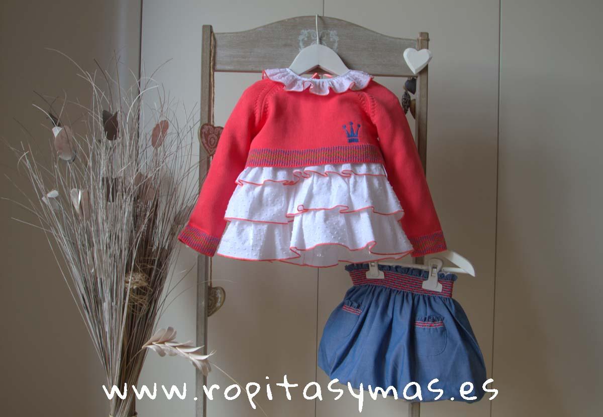 Conjunto falda niña CELINE de EVA CASTRO