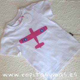 Camiseta AVIÓN EVA CASTRO niño, verano 2018