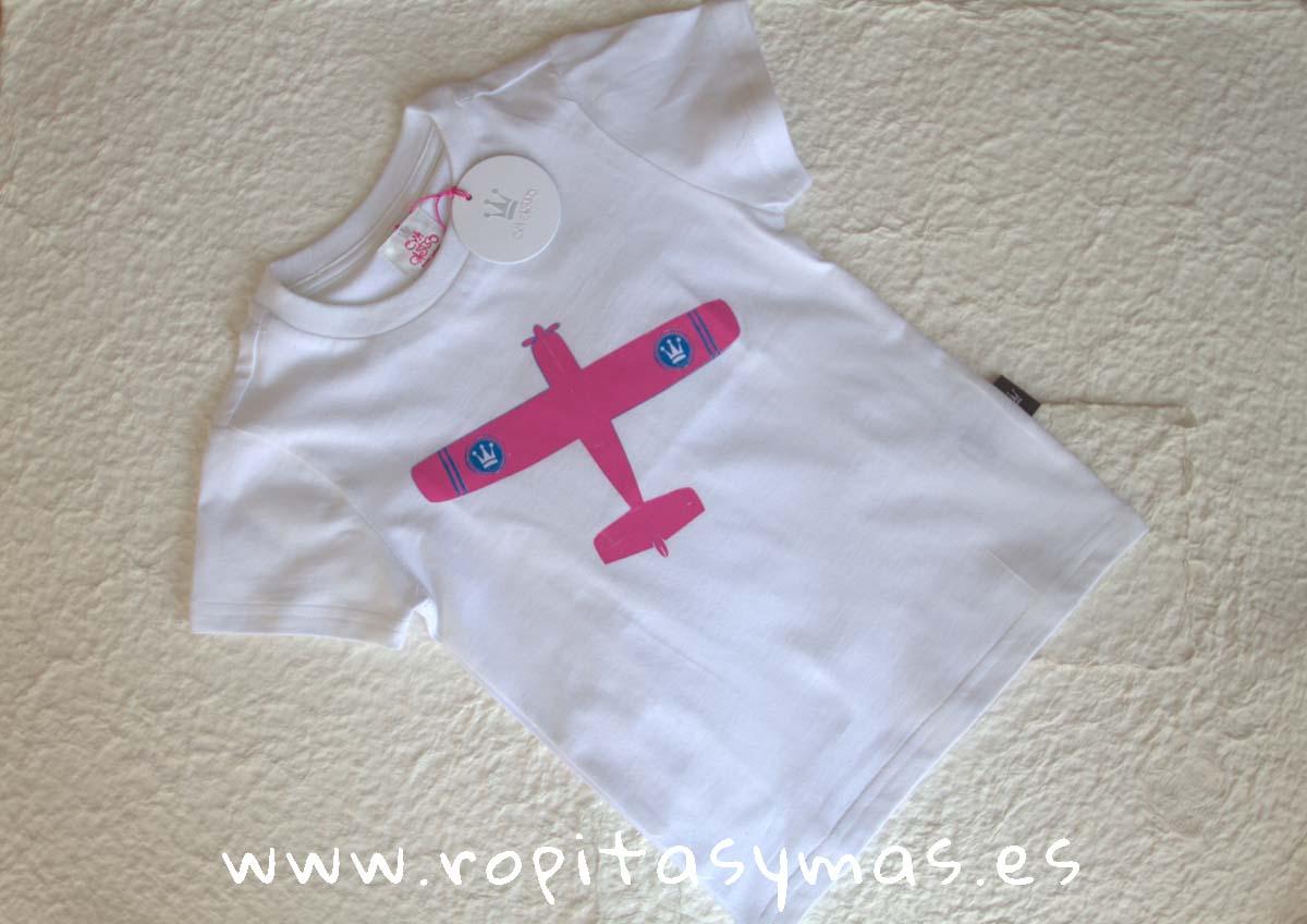 Camiseta AVIÓN EVA CASTRO niño