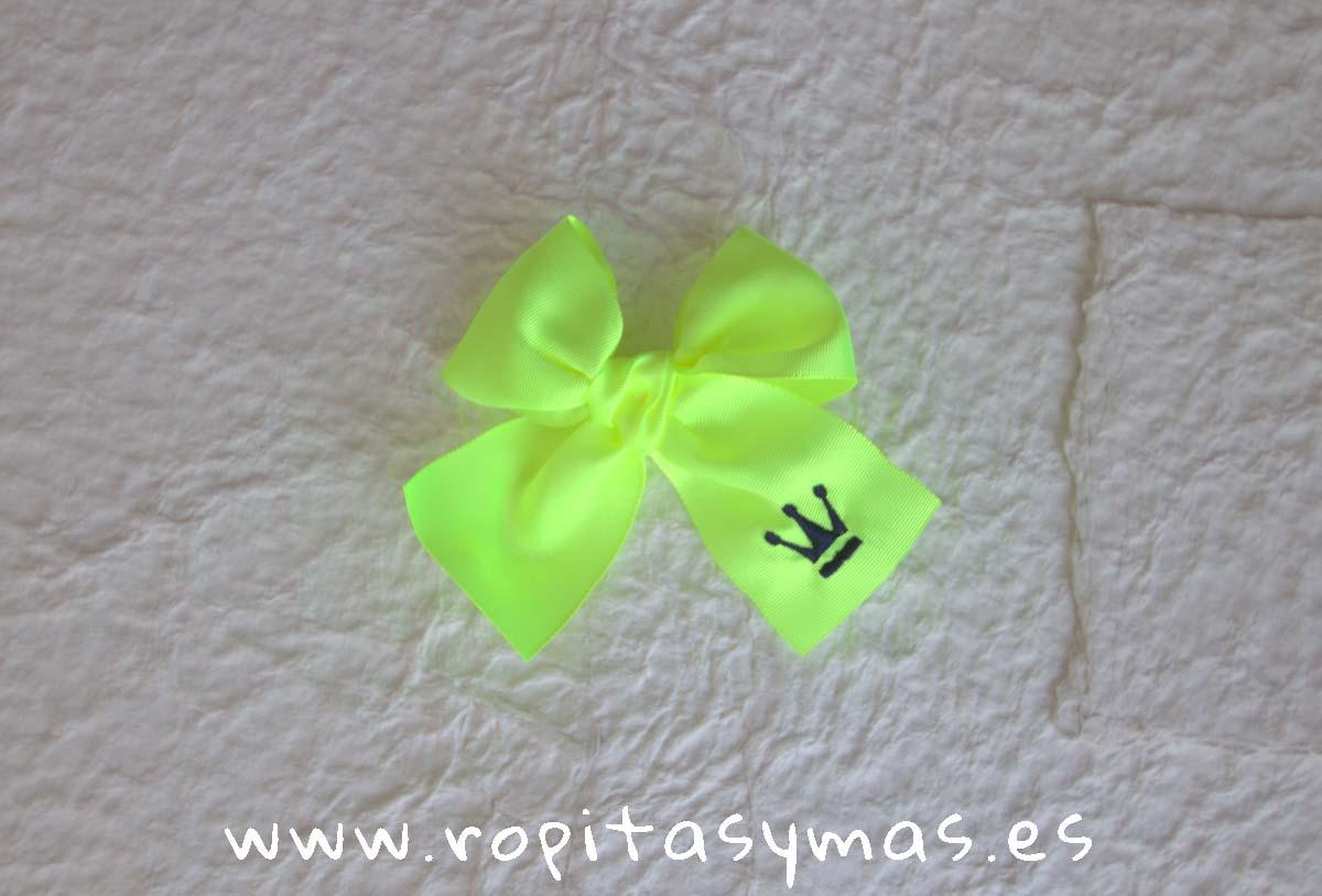 57f0e13ca Lazo amarillo fluor de Eva Castro
