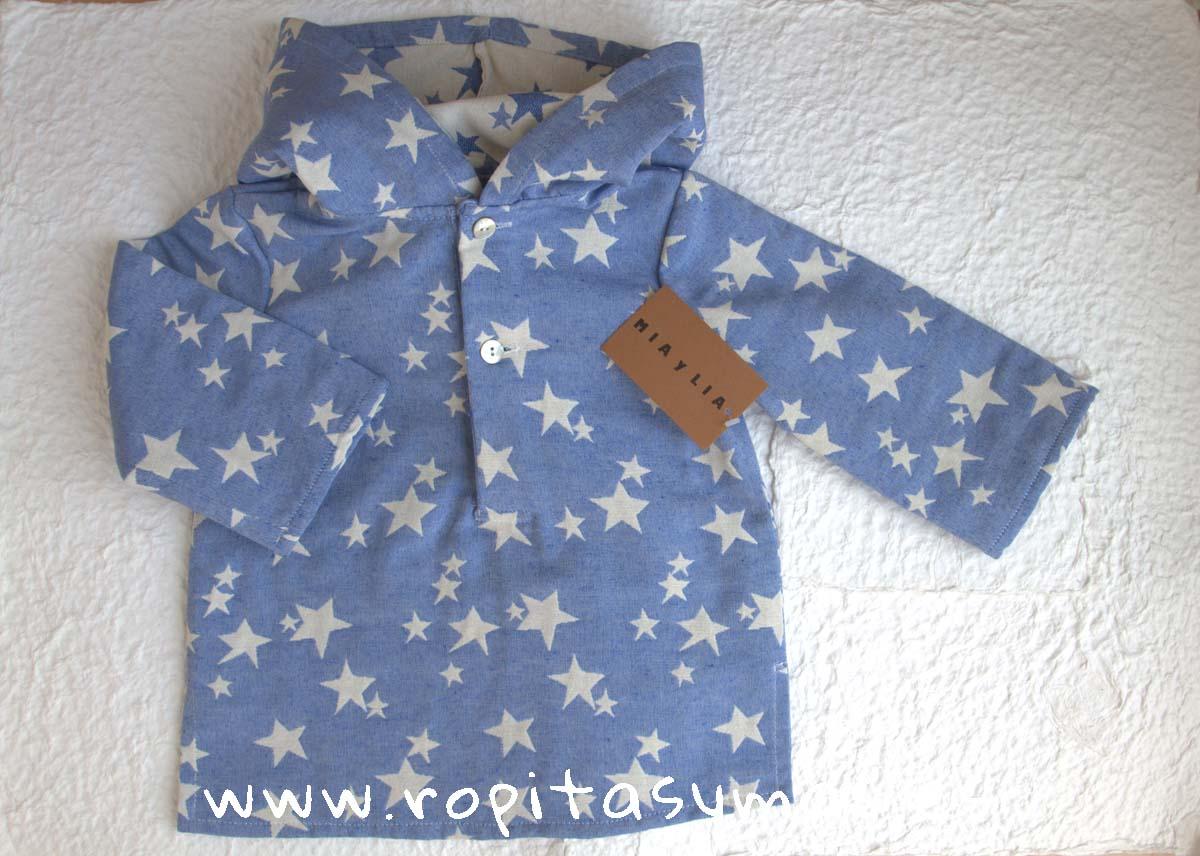 Camisa capucha ESTRELLAS de MIA Y LIA