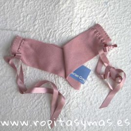 Medias cintas rosa palo DORIAN GRAY, verano 2018