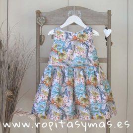 Vestido floral GARDEN de MAMI MARIA, verano 2018
