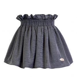 falda gris rugosa TEEN de EVE CHILDREN, invierno 2018