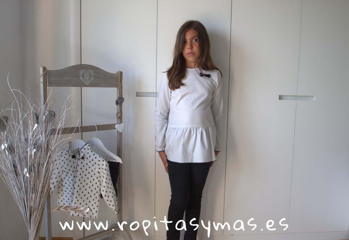 Conjunto niña pantalón negro TEPEE de EVE CHILDREN