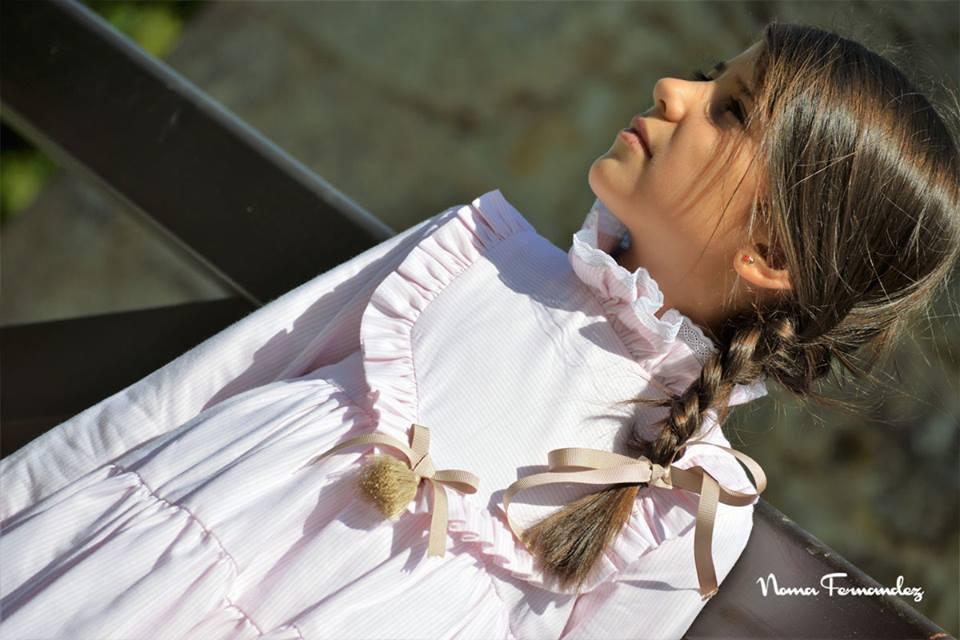 Vestido rayas blancas DEZA de NOMA