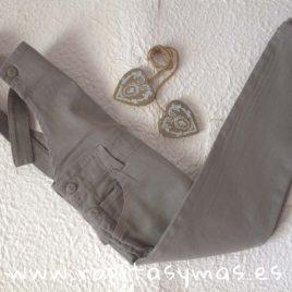 Peto jeans gris niña de  ANCAR, invierno 2018