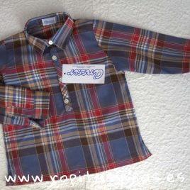 Camisa cuello camisero escocesa de Ancar, invierno 2018