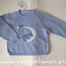 Jersey azul osito CLASSIC niño de KAULI, invierno 2018