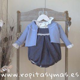 Chaqueta bebe azul CLASSIC de KAULI, invierno 2018