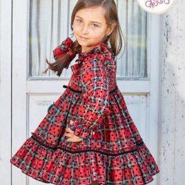 Vestido MIRELLE de EVA CASTRO, invierno 2018