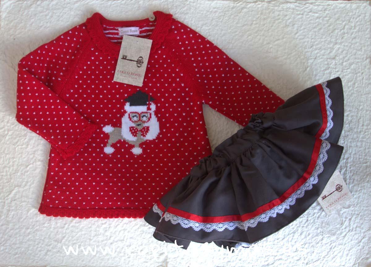 Conjunto braga-falda SCHOOL de COCCO ROSE