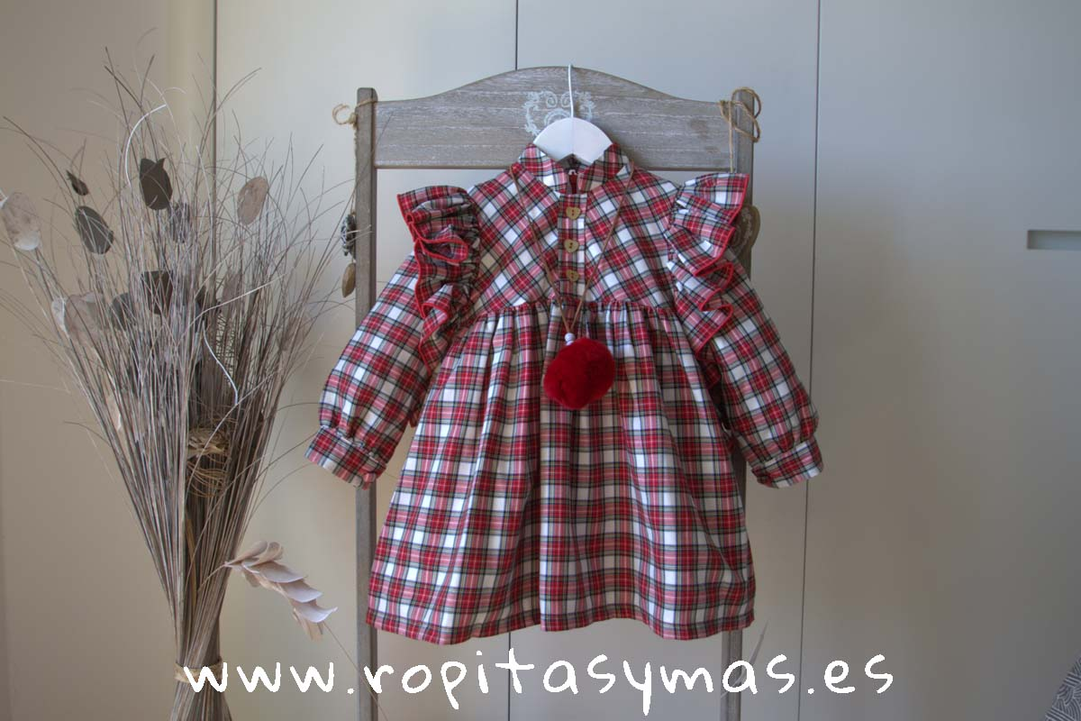 Vestido volantes TRISTON de COCCO ROSSE