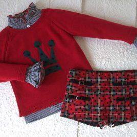 Conjunto falda pantalón MIRELLE de EVA CASTRO, invierno 2018