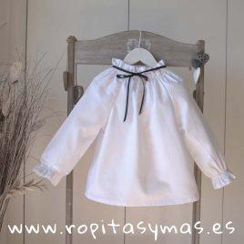 Blusa blanca ALICE de MAMI MARIA, invierno 2018