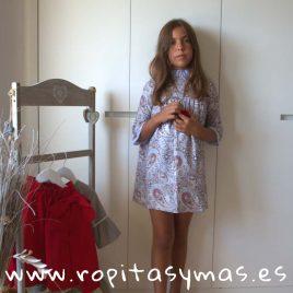 Vestido DANIELA de MAMI MARIA, invierno 2018