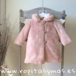 Abrigo bebé rosa MOSCOW de MAMI MARÍA, invierno 2018