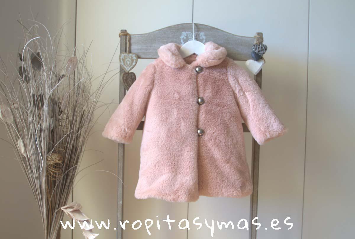 Abrigo bebé rosa MOSCOW de MAMI MARÍA