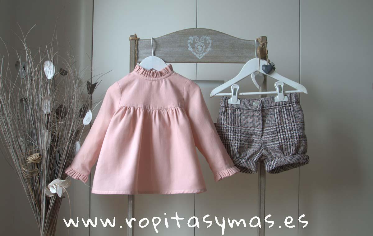 Blusa ROSE y Short COCO de MAMI MARIA