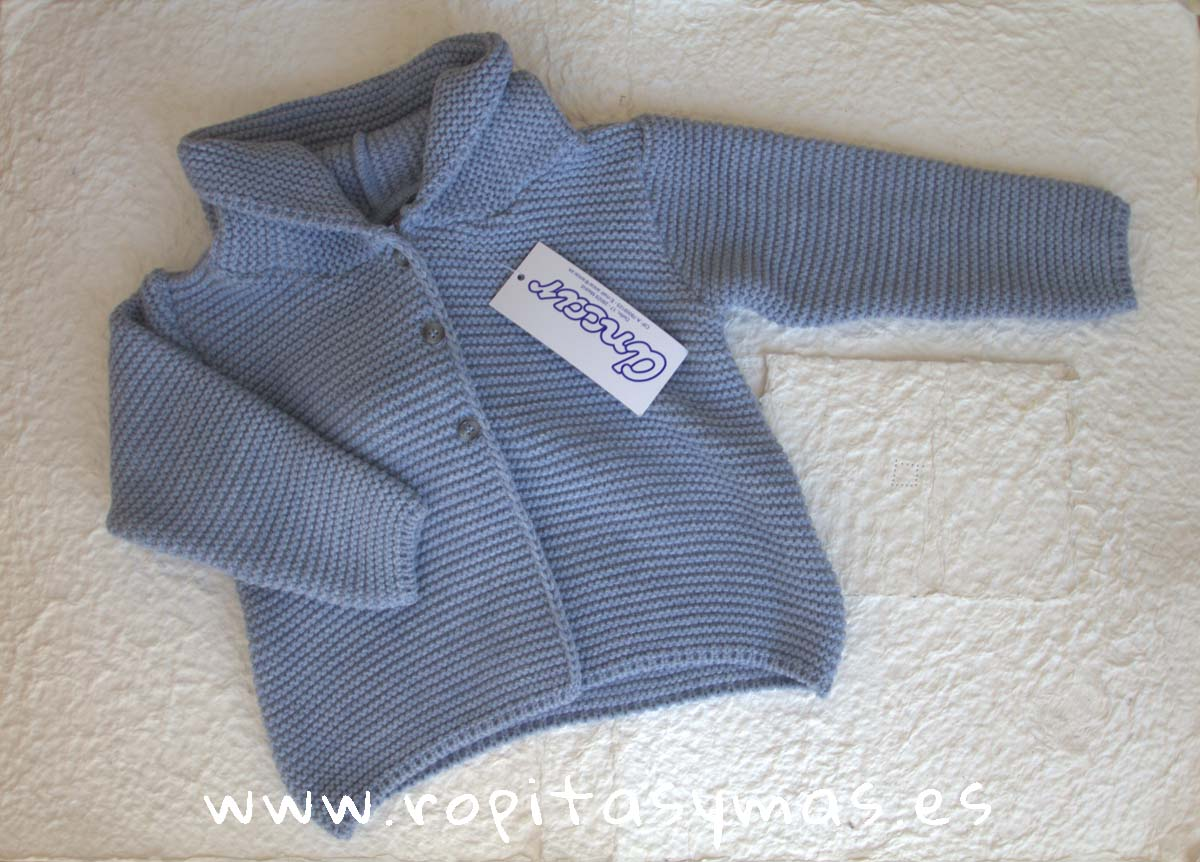 Chaqueta capucha azulada de Ancar