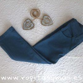 Pantalón pitillo azulón niño de  ANCAR, invierno 2018