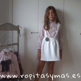Conjunto falda NEVADA de COCCO ROSE, invierno 2018