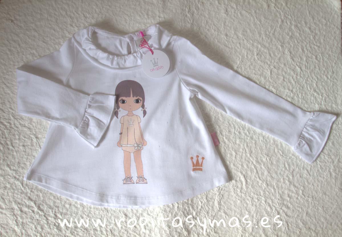 Camiseta muñeca EVA CASTRO niña