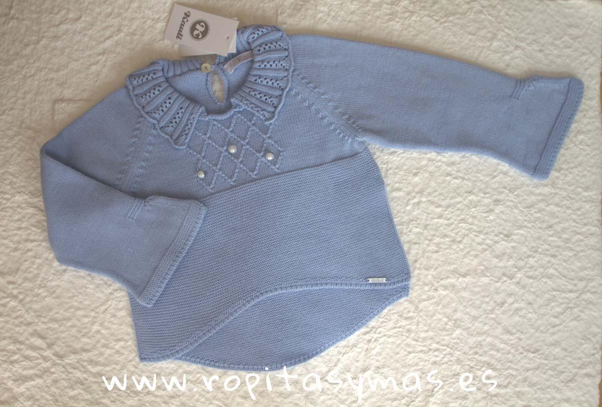 Jersey azul niña CLASSIC de KAULI