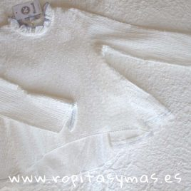 Blusa blanca CLASSIC de KAULI, invierno 2018