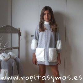 Vestido ANTARTIDA de PARA SOFÍA, invierno 2018