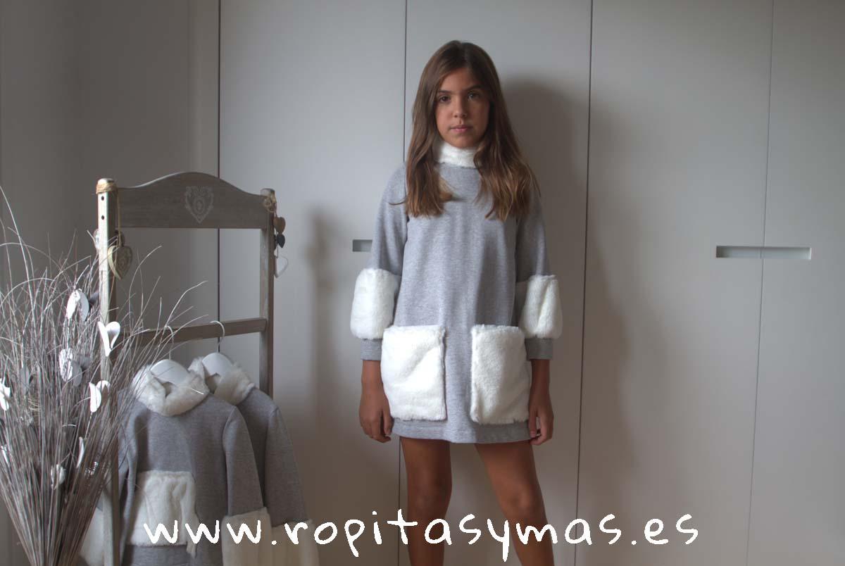 Vestido ANTARTIDA de PARA SOFÍA