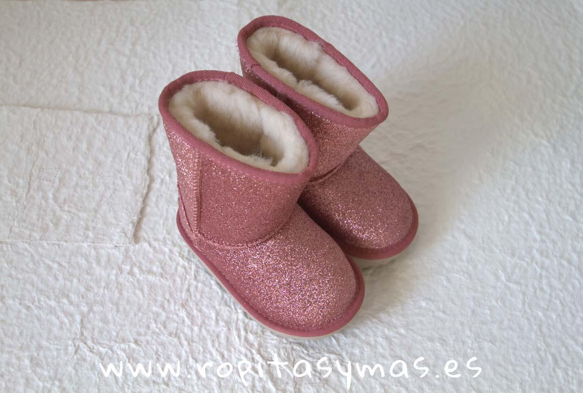 CLASSIC SHORT II UGG glitter rosa