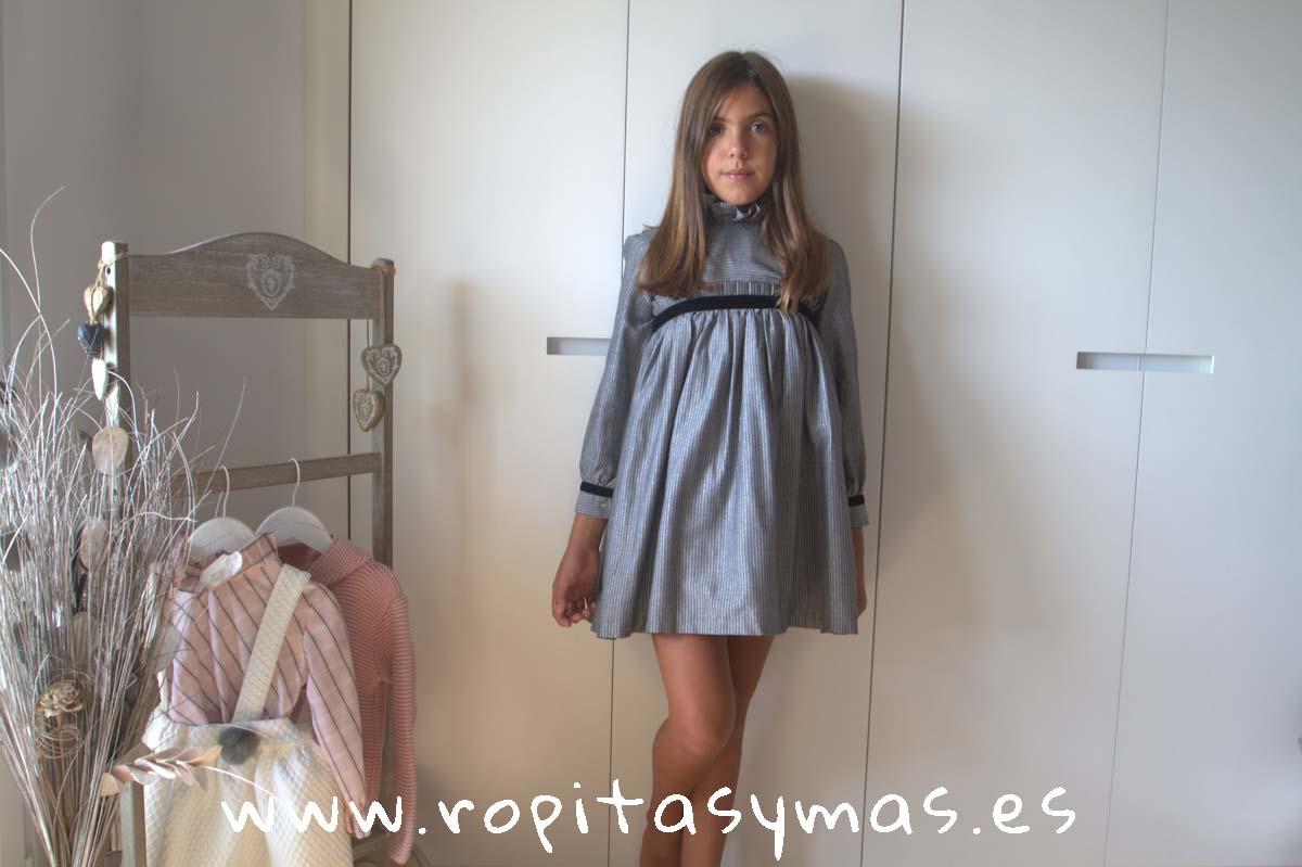 Vestido rayas SILVER de COCCO ROSSE