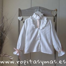 Blusa blanco roto PETIT SUISSE de KAULI, invierno 2018