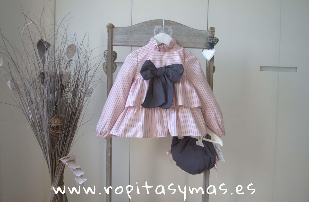 Jesusito rosa y gris SICILIA de PARA SOFIA