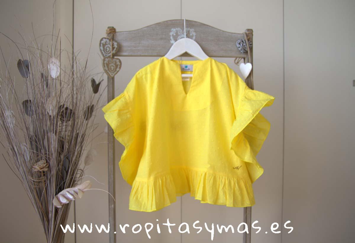 Camisola amarilla ACAPULCO de LE PETIT MARIETTE