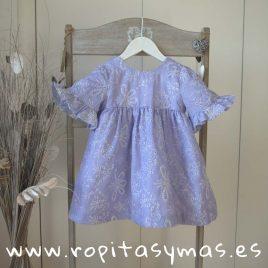 Vestido MANGAS BLUE MOON de PARA SOFIA, verano 2019