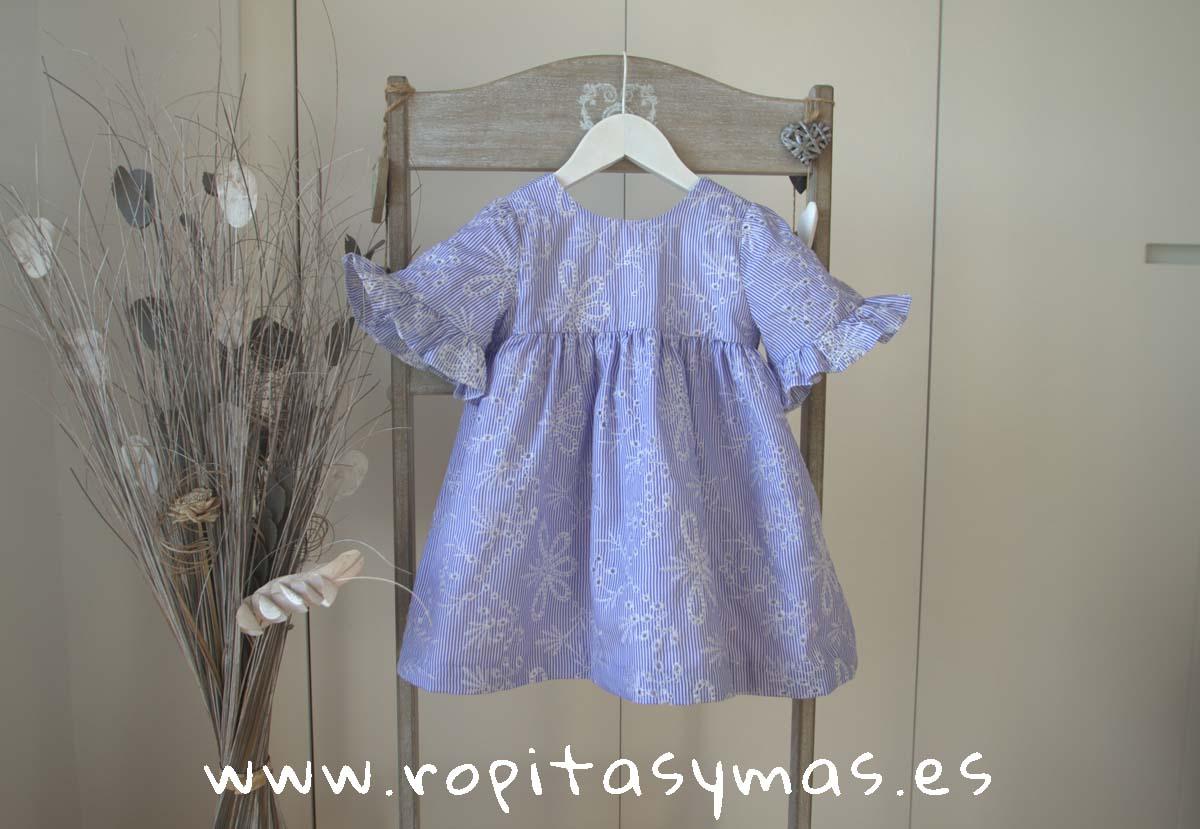 Vestido MANGAS BLUE MOON de PARA SOFIA