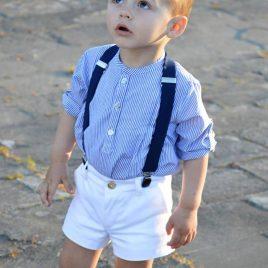 Conjunto niño pantalón mil rayas SICILIA de NOMA, verano 2019