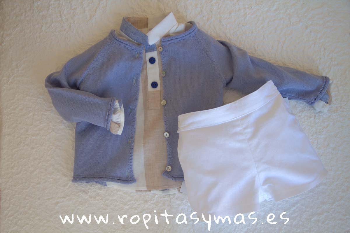 Chaqueta azul jeans claro botones de Ancar