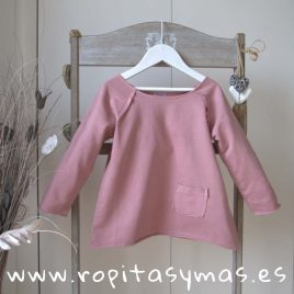 Jersey algodón rosa maquillaje de ANCAR, verano 2019