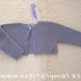 Chaqueta botón azul jeans claro MARINERA de Ancar, verano 2019