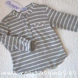 Camiseta mao algodón rayas LIBELULA de ANCAR, Verano 2019