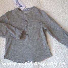 Camiseta mao algodón gris LIBELULA de ANCAR, Verano 2019