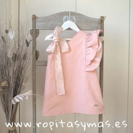 Vestido asimétrico rosa SHELL de EVE CHILDREN, verano 2019
