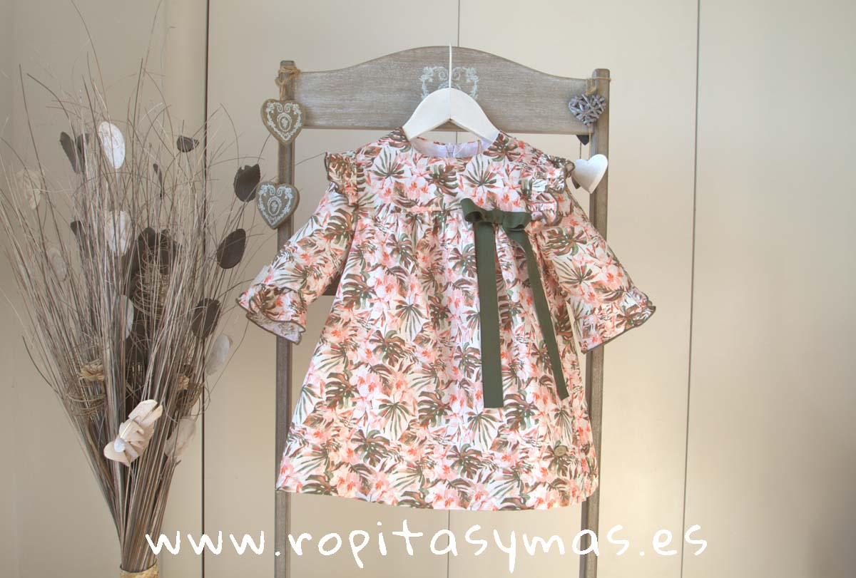 Vestido selva PEACH de EVE CHILDREN