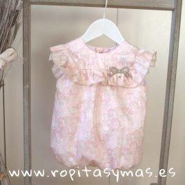 Pelele rosa caracolas SHELL  EVE CHILDREN, verano 2019