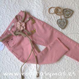 Pantalón largo YOUNG & CHIC rosa de KAULI, verano 2019