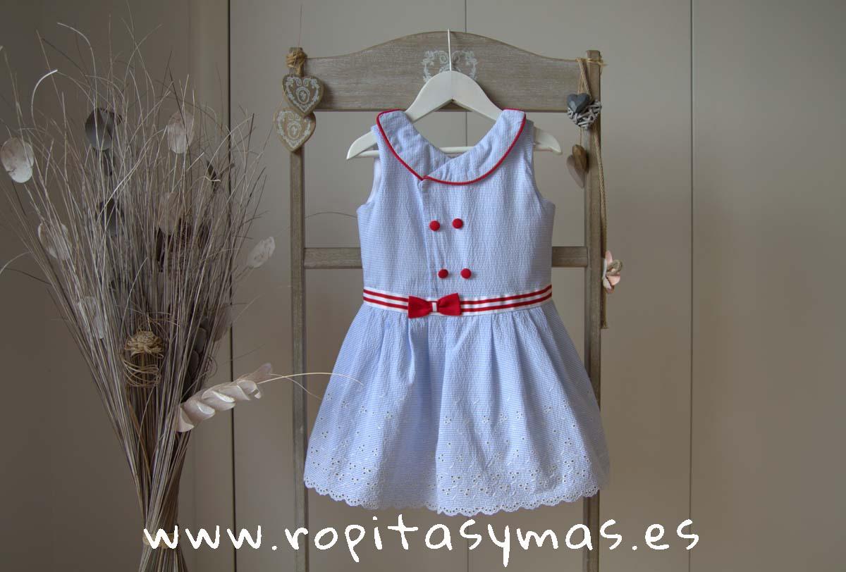 Vestido marinero ISLA de KAULI