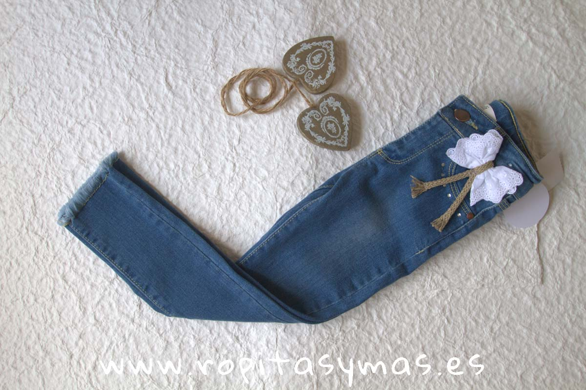 Pantalón vaquero YOUNG & CHIC azul de KAULI